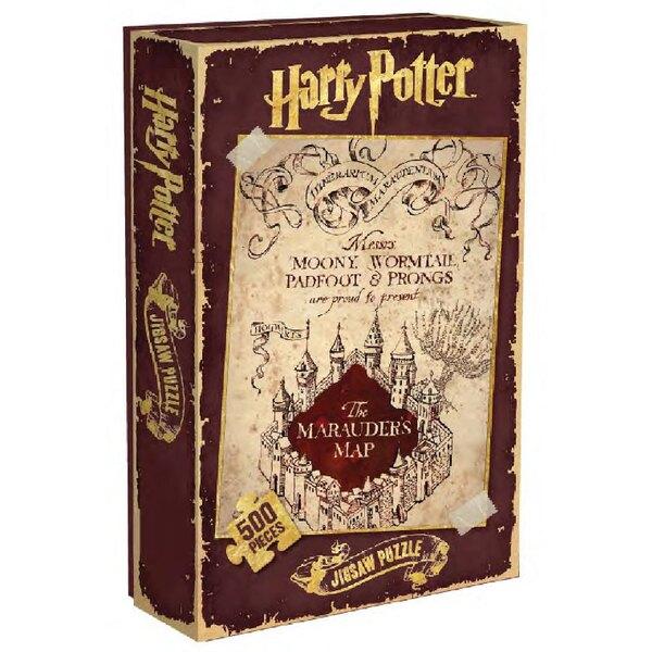 Harry Potter Puzzle carte du Marauder Puzzle 500 pièces