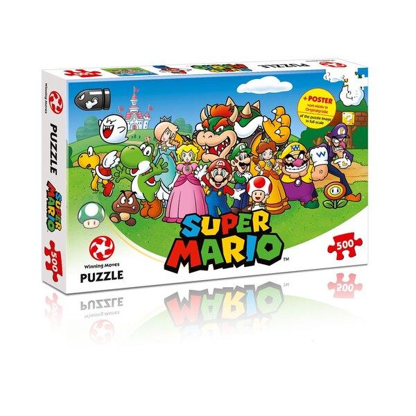Super Mario Puzzle Mario Friends Puzzle 500 pièces