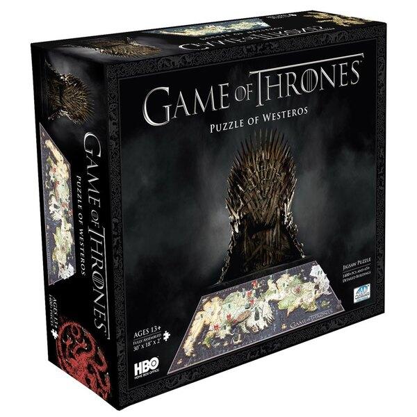 Le Trône de fer puzzle 3D Westeros (1500 pièces) Puzzle 3d 1500 pièces