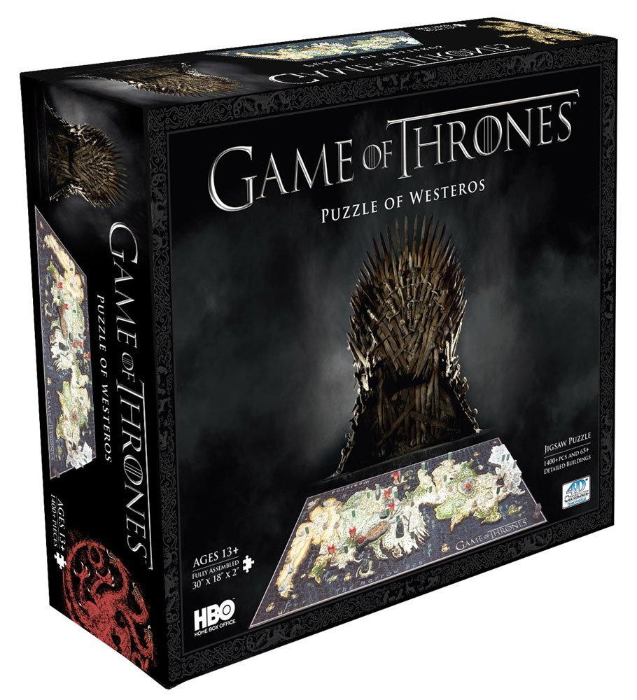 Puzzle 3d - Le Trône de fer puzzle 3D Westeros (1500 pièces) Puzzle 3d