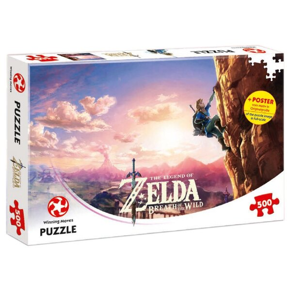 The Legend of Zelda Breath of the Wild Puzzle Climbing Puzzle 500 pièces
