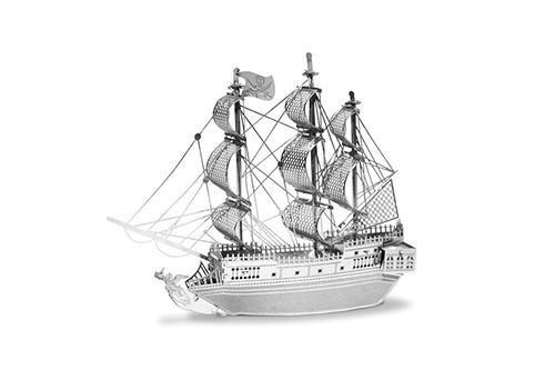 Maquette de bateau - Bateaux: BATEAU PIRATE LA PERLE NOIRE --Metal Ea