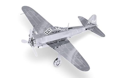 Maquette d'avion - Aviation: MITSUBISHI ZERO --Metal Earth