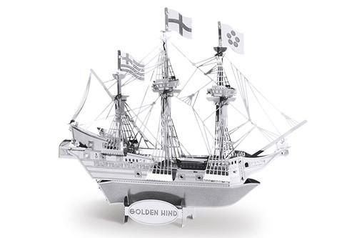 Maquette de bateau - Bateaux: GOLDEN HIND --Metal Earth
