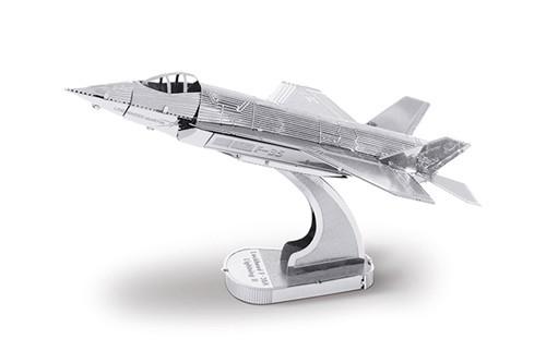 Maquette d'avion - Aviation: F-35A LIGHTNING II (Boeing) --Metal Earth