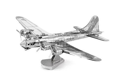 Maquette d'avion - Aviation: B-17 FLYING FORTRESS (BOEING) --Metal Ear
