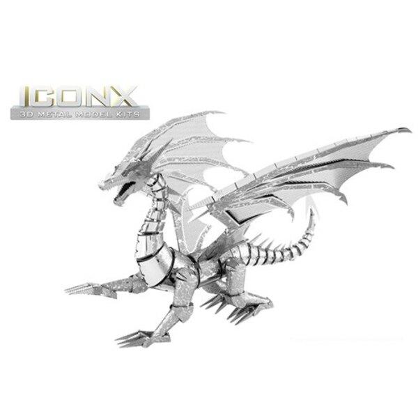 ICONX - DRAGON d'argent