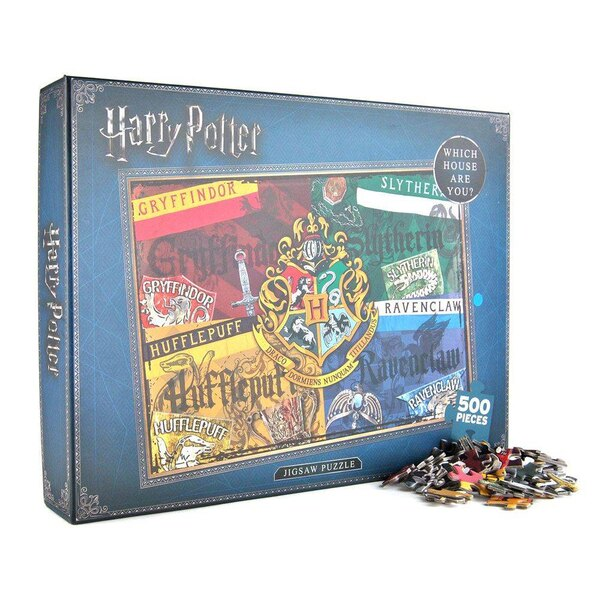 Harry Potter Puzzle Houses Puzzle 500 pièces