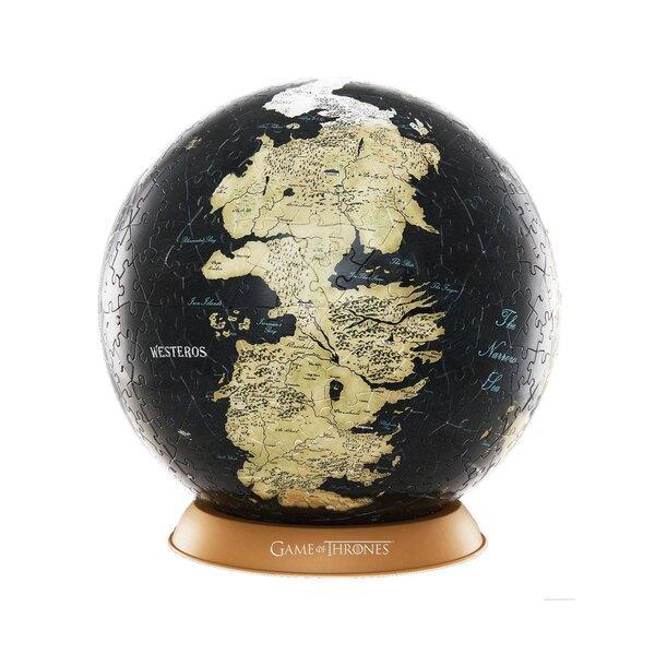 Le Trône de fer puzzle 3D Globe Unknown World (540 pièces) Puzzle 3d 540 pièces