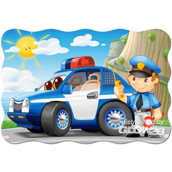 Patrouille de police Puzzle 20 pièces