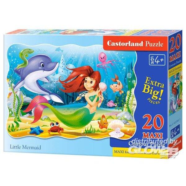 Petite Sirène Puzzle 20 pièces