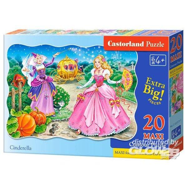 Cendrillon Puzzle 20 pièces