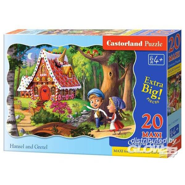 Hansel et Gretel Puzzle 20 pièces