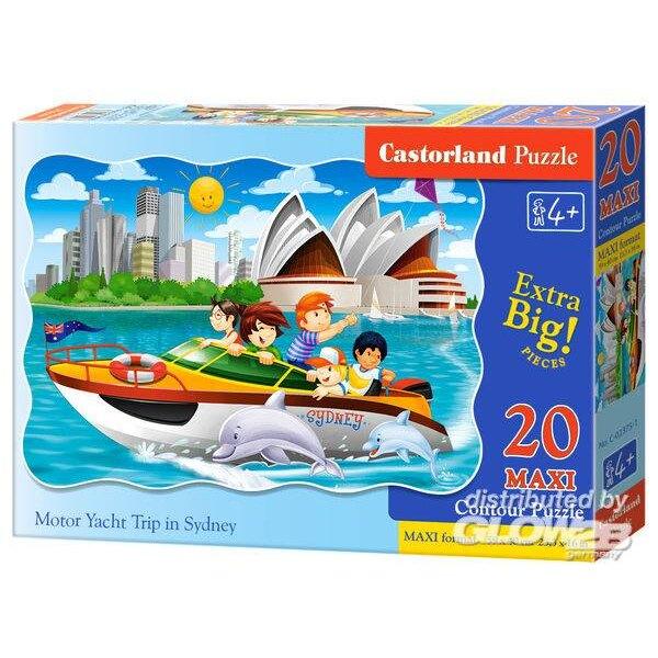Voyage de yacht à moteur à Sydney Puzzle 20 pièces