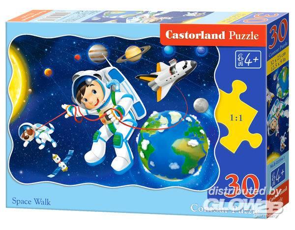 Puzzle - Space Walk, Puzzle 30 pièces Puzzle 30 pièces--Castorland
