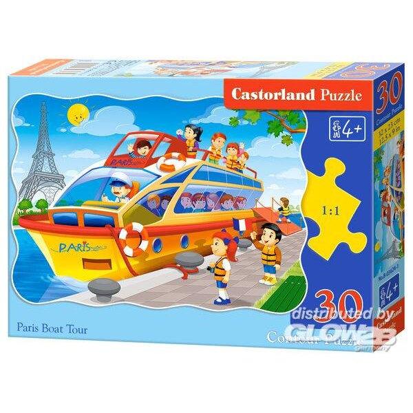 Paris Boat Tour Puzzle 30 pièces