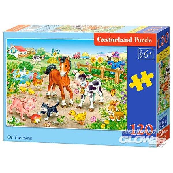 À la ferme Puzzle 120 pièces