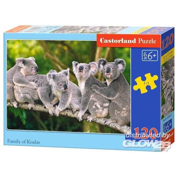 Famille des Koalas Puzzle 120 pièces