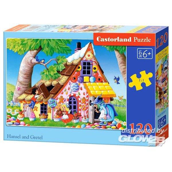 Hansel et Gretel Puzzle 120 pièces