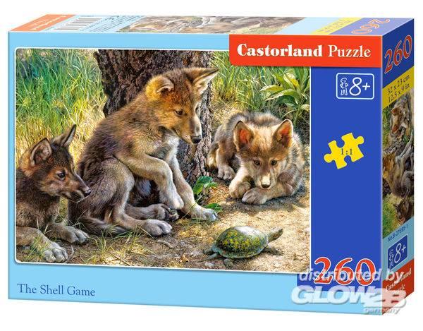 Puzzle - The Shell Game, Puzzle 260 parties Puzzle 260 pièces--Castorl