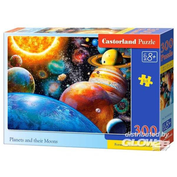 Planètes et leurs lunes Puzzle 300 pièces