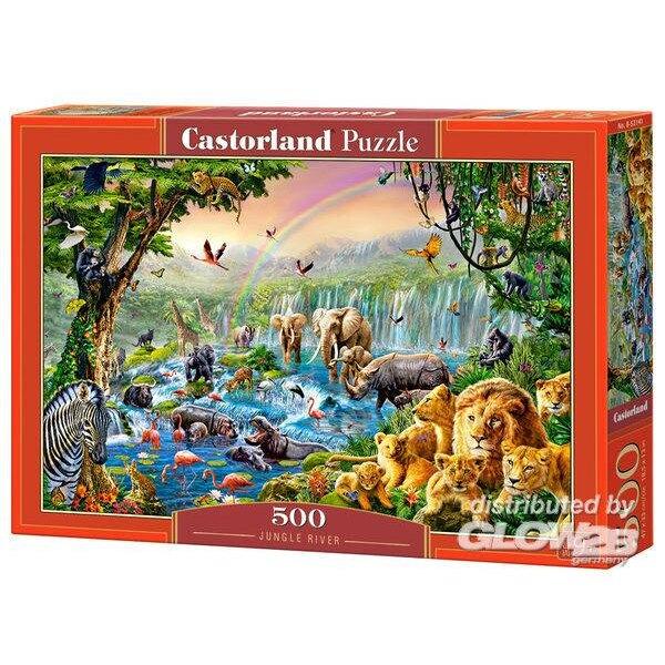 Les animaux de la jungle Puzzle 500 pièces