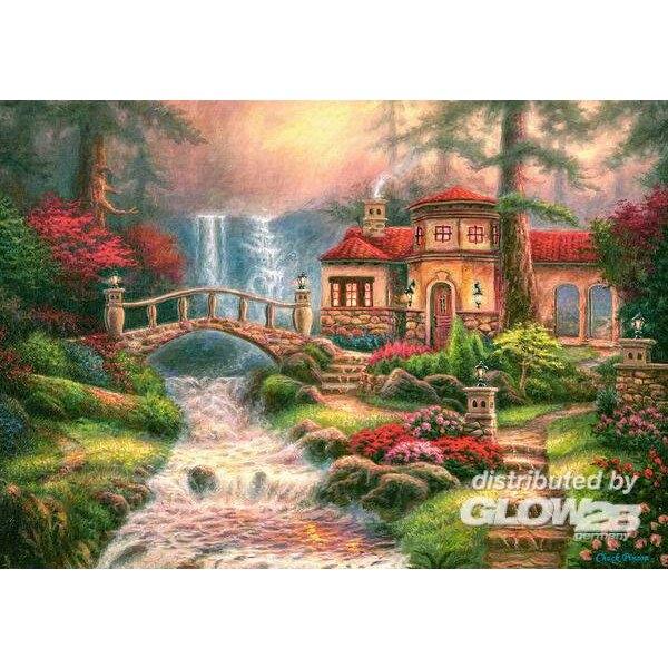 Sierra River Falls Puzzle 500 pièces