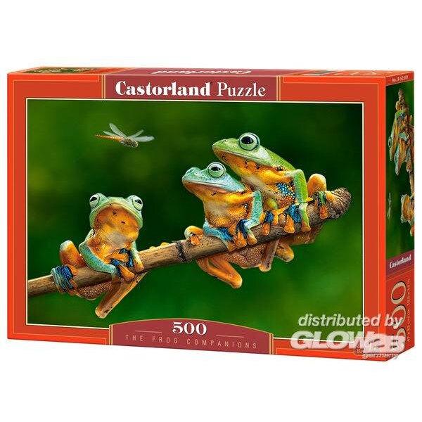 Les compagnons de grenouille Puzzle 500 pièces