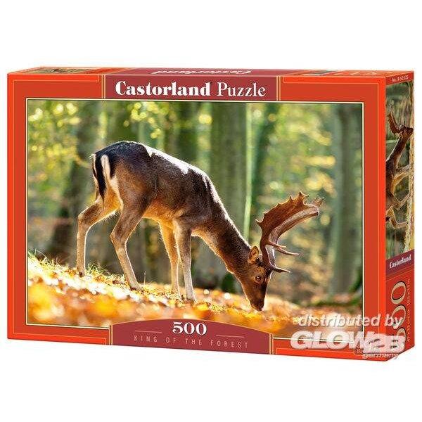 Roi de la Forêt Puzzle 500 pièces