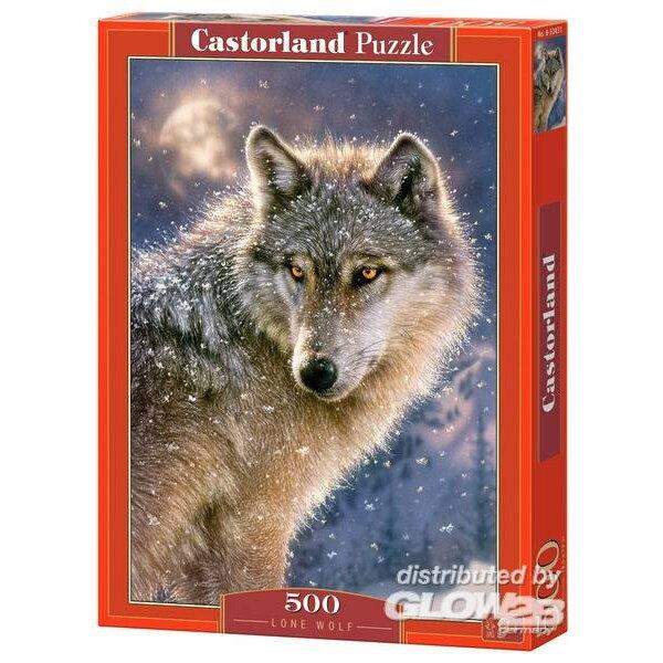 Loup solitaire Puzzle 500 pièces