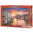 Puzzle Venice at Sunset, puzzle 500 pièces Castorland B-52479