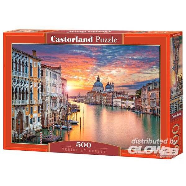 Venise au coucher du soleil Puzzle 500 pièces