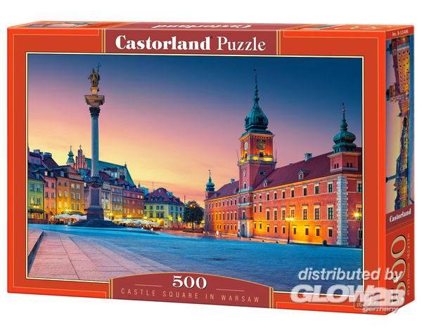 Puzzle - Place du château à Varsovie Puzzle 500 pièces--Castorland