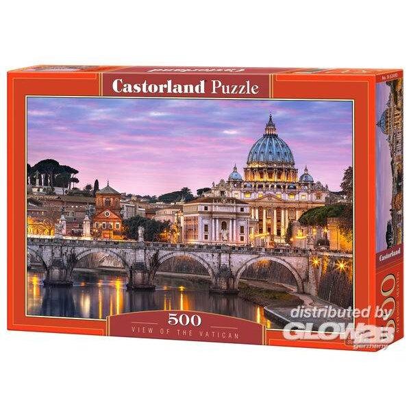 Vue du Vatican Puzzle 500 pièces