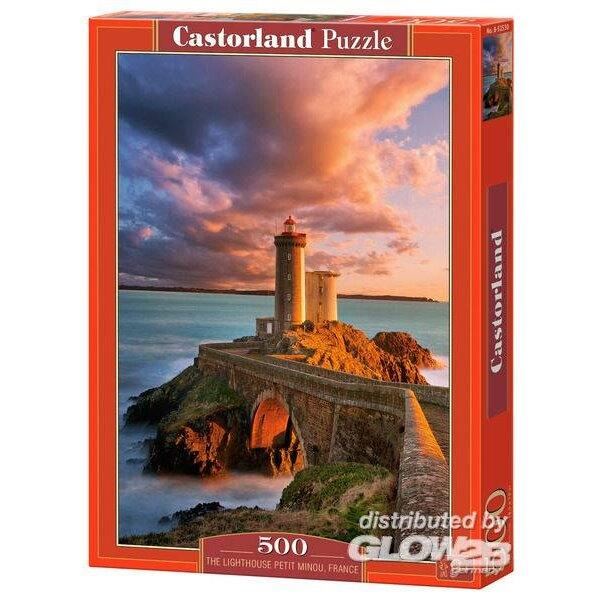 Le phare du Petit Minou, France Puzzle 500 pièces