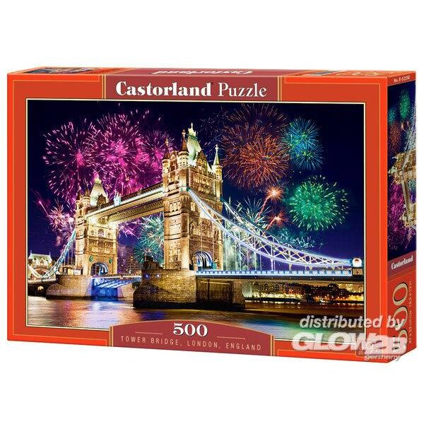 Tower Bridge, Angleterre Puzzle 500 pièces