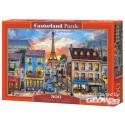 Puzzle Rues de Paris, puzzle 500 pièces Castorland B-52684