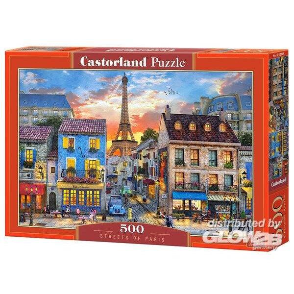 Les rues de Paris Puzzle 500 pièces