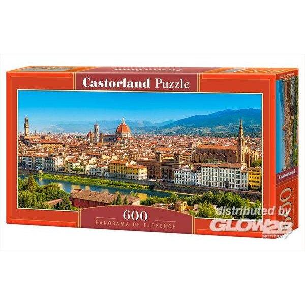 Panorama de Florence Puzzle 600 pièces