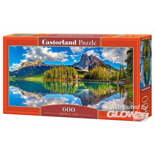 Emerald Lake Puzzle 600 pièces