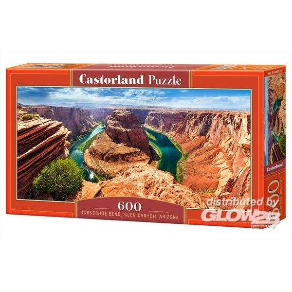 Horseshoe Bend, Glen Canyon, Arizona Puzzle 600 pièces
