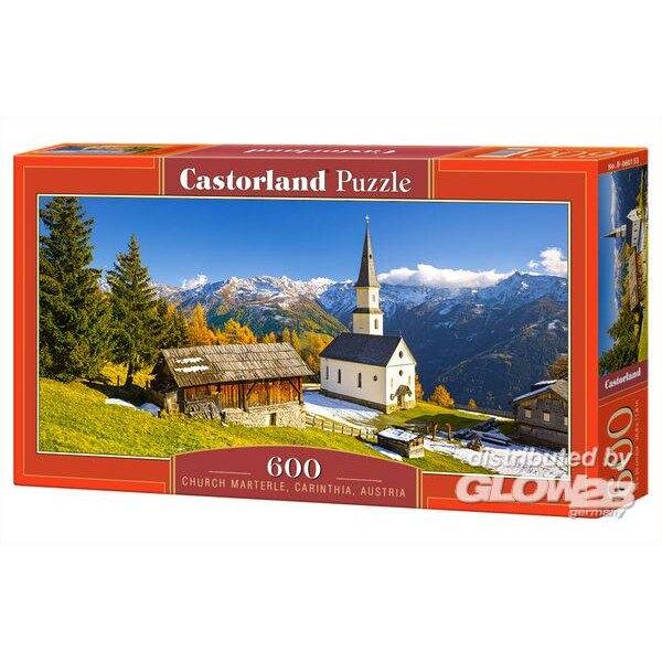 Église Marterle, Carinthie, Autriche Puzzle 600 pièces