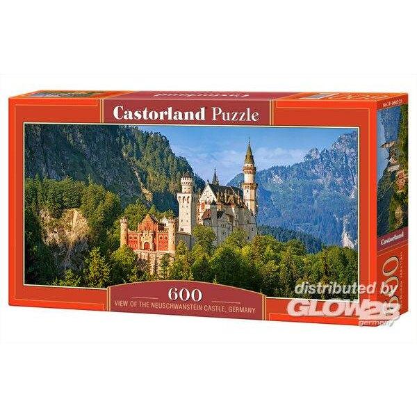 Vue du château de Neuschwanstein, Allemagne Puzzle 600 pièces