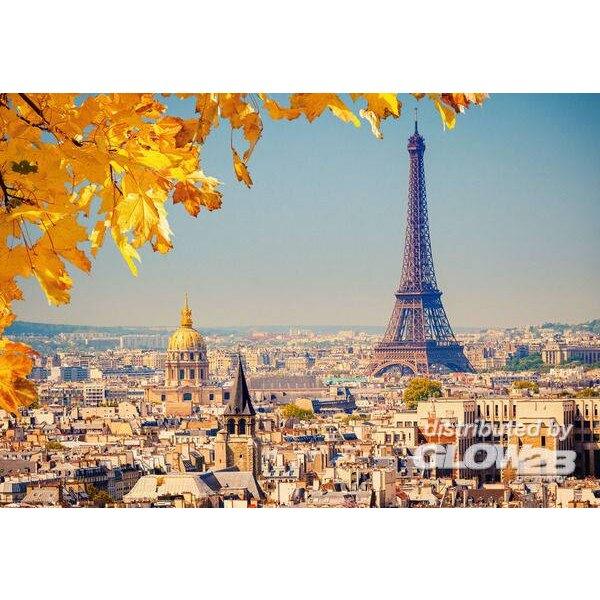 Puzzle Automne à Paris, puzzle 1000 pièces Castorland C-103089-2