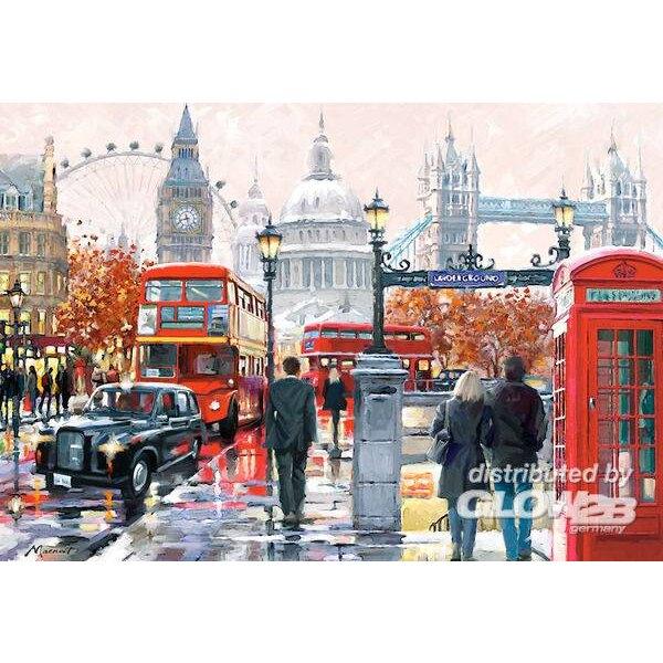 Londres Collage Puzzle 1000 pièces