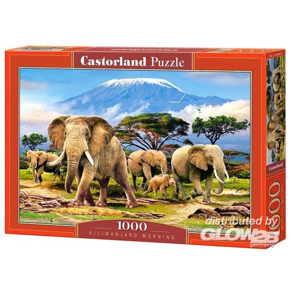 Kilimanjaro Morning, puzzle 1000 parties