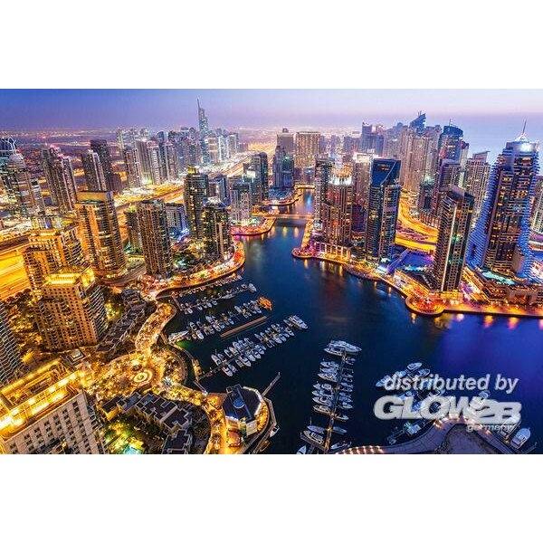 Dubaï dans la nuit Puzzle 1000 pièces