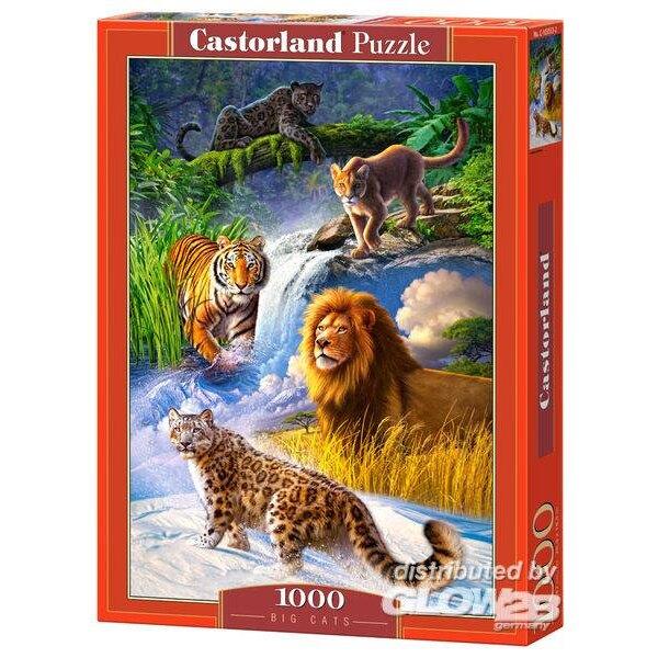 Gros chats Puzzle 1000 pièces