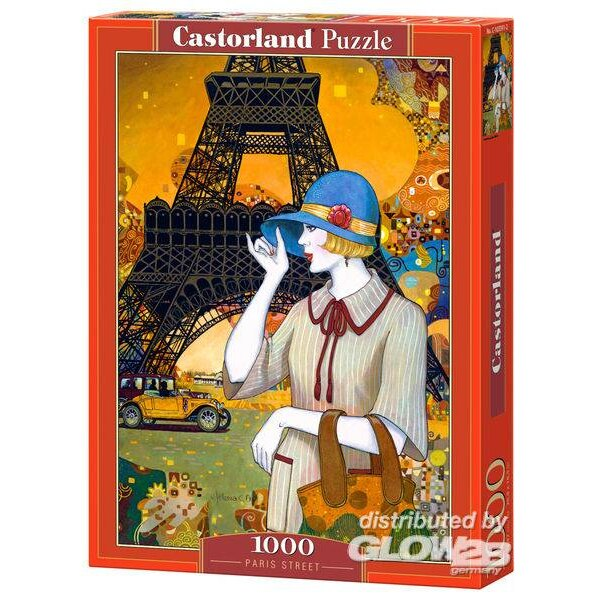 Paris et ses rues Puzzle 1000 pièces