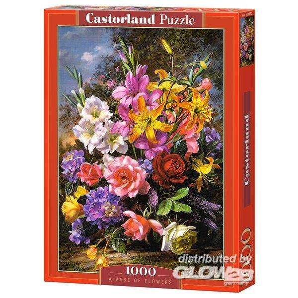 Un vase de fleurs Puzzle 1000 pièces